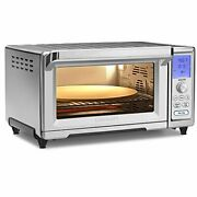 Chef's Convection Toaster Oven, Stainless Steel, 20.87lx16.93wx11.42h