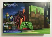 Microsoft Xbox One S 1tb Minecraft Limited Edition Console Japan Used