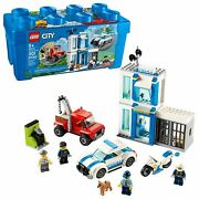 Lego City Police Brick Box 60270 Action Cop Building Toy For Kids 301 Pieces