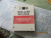 Nos 1946-1964 Chevrolet Passenger Cars Chassis And Body Parts Catalog