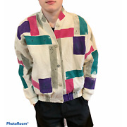 Vintage 80andrsquos Play Alegre Hand Painted Jacket