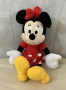 Minnie Mouse Plush Doll 14 Toy Disney Kohls Cares Characters.