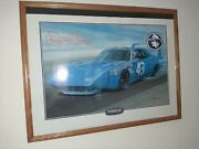 Richard Petty Nascar Dodge Plymouth Limited Edition Poster/prints 4withframes