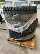 5 Goodyear Mvt 395/85r20 3 With Mtv Wheels Plz Read For Conditions