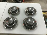 Corvette 1968-1982 Reconditioned Rally Wheel Centers And Caps 3925801 One Car
