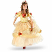 Size 6 Limited Edition 1 Of 2000 Disney Belle Costume Gown Dress Beauty And Beast