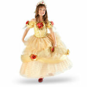 Size 5 Limited Edition 1 Of 2000 Disney Belle Costume Gown Dress Beauty And Beast