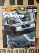 Hot Wheels 2021 - Fast And The Furious - Dodge Charger Black Fast Stars