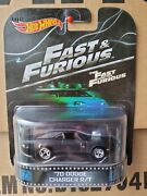Hot Wheels And03970 Dodge Charger R/t [black] Fast And Furious Retro Entertainment