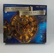 All Paper Working Clock Wrebbit Model Peace Tower 3d Challenging Puzzle 48 Hours