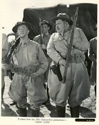 Laurel + Hardy Line Up For Army Inspection - Near Mint Condition Key Book Photo