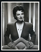 Oversize Ruth Hussey 10x13 Dblwt Matte Finish N Mint- Photo - Star Of Uninvited