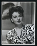 Gorgeous + Sexy Ruth Hussey - Oversize 10x13 Dblwt Matte Finish Photo In N Mint