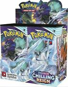 Pokemon Sword And Shield Chilling Reign Booster Box 36 Pack Pre-sale Ships 6/18