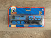 Thomas The Train And Friends Wooden Railway And Six Flags Cargo Car 2007 Real Wood