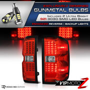 Smd Chips Led Bulb Reverse 14-18 Silverado 1500 Red Ultra Bright Tail Light
