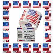 Us American Forever Flag Postage Stamps Coil Of 100 Envelope Collection 2018 Usa