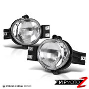 Crystal Clear Left+right Replacement Fog Light Bumper Lamp 02-08 Dodge Ram 1500