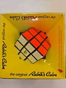 Vintage 1980 Ideal The Original Rubiks Cube New In Package Fidget Toy