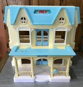 Vintage 1993 Fisher Price Loving Family 6364 Dream Folding Dollhouse Faded