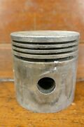 Antique Vintage Indian Motorcycle 1936-48 Chief Piston Lynite 86529 - Barn Find
