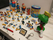 Rare Donald Duck Made W Wood Chips And Collection 31 Items Make Offer