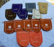 Lot Of 15 Crown Royal Bags Peach Xo Salted Caramel Maple Reserve