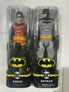 """New Dc Creature Chaos 12"""" Inch Batman And Robin Action Figures Look"""