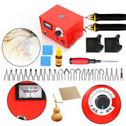 New 50w 110v Pyrography Tool Kit 1pyrography Machine And 2 Pyrography Pencil