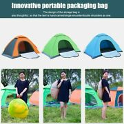 Automatic Tent Oxford Cloth Camping Shelter Survival Emergency Tent 1-2 Person