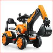 Electric Excavator Toy Car - Children Toy Engineering Toy With Remote Control