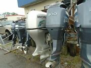 Used Low-hour 2004 300 Hp Hpdi 25 Yamaha Outboard Boat Motor 402 Hours