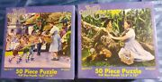 Double Pack The Wizard Of Oz 50 Piece Puzzle 12.5 X 15 Ages 4-7 Sealed 2002