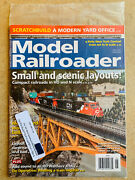 New Model Railroader Magazine May 2021 Small And Scenic Layouts Ho Andn Scale Trains