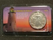 1994 1 American Silver Eagle 1 Oz 999 Gem Uncirculated In Littleton Package