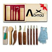 Tools Knife Set For Professional And Beginners Andndash Wood Carving Kit As Gift Andndash All