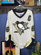 Pittsburgh Penguins Mario Lemieux Jersey Ccm Official Mens Xl White Nhl Preowned