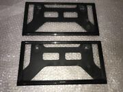 Bnr34 Nismo Carbon License Plate Rim Front And Rear Set