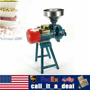 220v Flour Mills Cereals Grinder Electric Rice Corn Grain Coffee Wheat +funnel