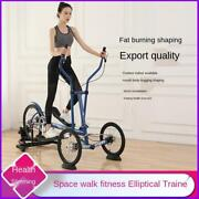 Chrt Foldable Swing Exercise Bike Elliptical Traine Rotating Bicycle For Outdoor
