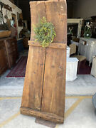 Antique Eastern European Seed Plow Seed Sled Primitive Rustic Decor