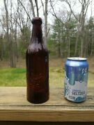 Very Early Pre Prohibtion Bosch Brewing Whittle Lake Linden Michigan Bottle