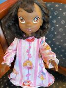"""2010 Disney Store Tiana Toddler Doll Princess And The Frog 15"""""""
