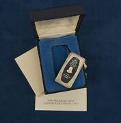 1971 Franklin Mint Sterling Silver 1000 Grains Fathers Day Ingot - Free Ship Usa