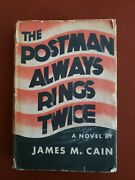James M Cain / The Postman Always Rings Twice First Edition Stated 1934 W/dj