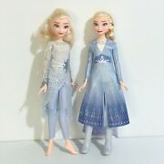 Hasbro Disney Frozen 2 Elsa Dolls X 2 Movie Doll And Magical Discovery