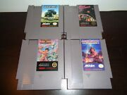 4 Game Nes Lot Akklaim Games 100 Authentic Tested And Works