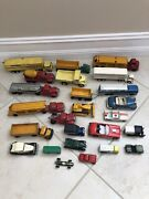 Vintage Toy Cars And Trucks - 25 Total