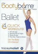 Tracey Mallett The Booty Barre Ballet Used Dvd Free Shipping