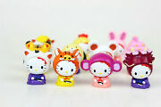 Hello Kitty Costume Collection 2 Mini Figure Large Lot - 11 Pieces Free Ship